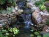 Front waterfall